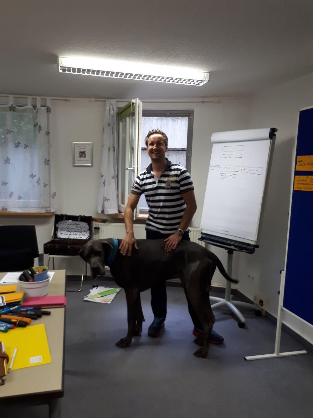 Tiergestütztes Coaching